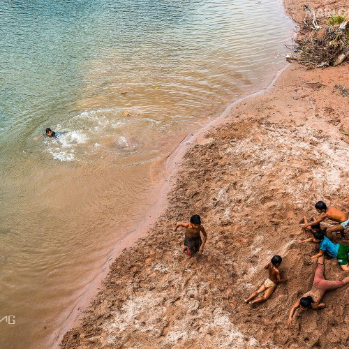 Children playing at the Yamino community in the Cordillera Azul project. Photo © Marlon DAG.