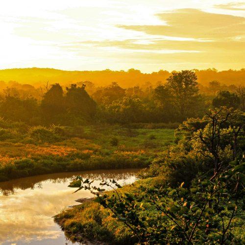 Sunset in the Kariba Wildlife Corridor.